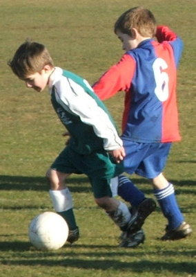 DanDan playing for Callowbrook Swifts